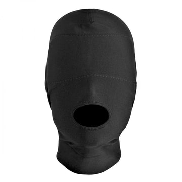 Disguise<br>Open Mouth<br>Hood with<br>Padded Blindfold aw-sex-products.