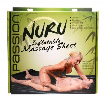 Nuru Inflatable Vinyl Massage Sheet aw-sex-products.