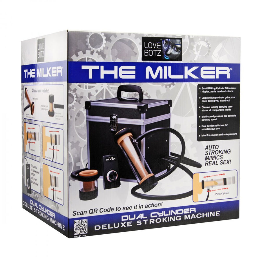 Milker Automatic Deluxe Stroker Sex Machine