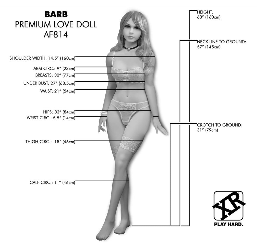 NextGen<br>Barb<br> Fantasy Love Doll<br> Sex Companion