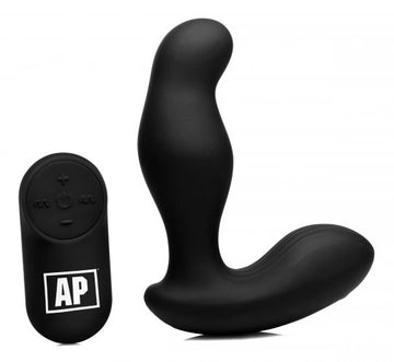7X P-Gyro<br>Silicone<br> Prostate Stimulator<br> with<br>Gyrating Shaft aw-sex-products.