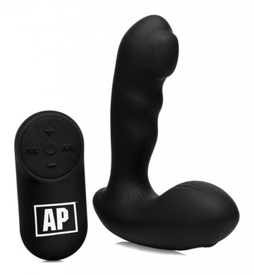 7X P-Milker<br>Silicone<br> Prostate Stimulator<br> with<br> Milking Bead aw-sex-products.