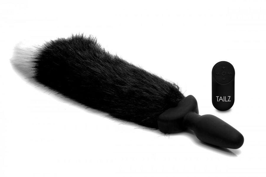 Wagging<br>Fox Tail<br>Anal Plug<br>Remote Control aw-sex-products.