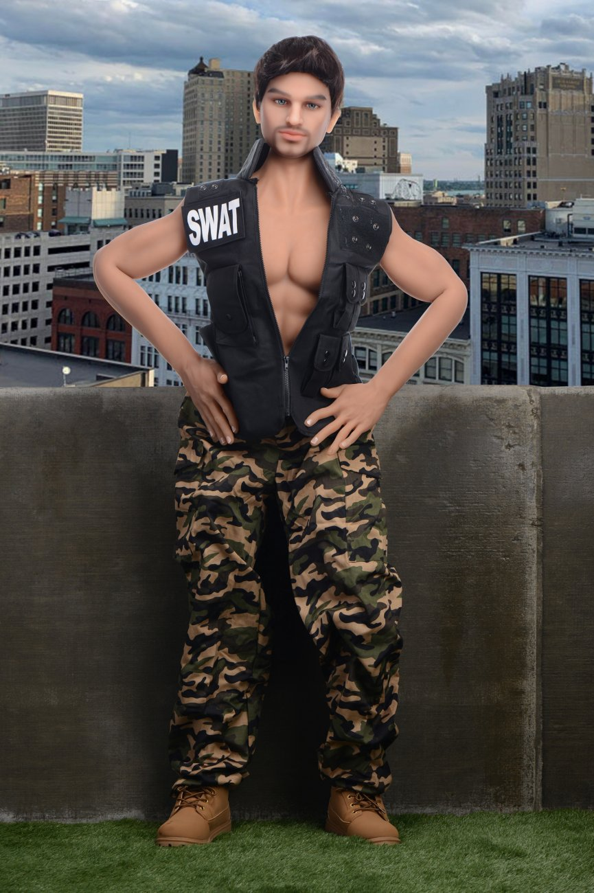 NextGen<br>SWAT Team Thomas<br> Fantasy Love Doll<br> Ultra Premium<br> Full-Size Companion