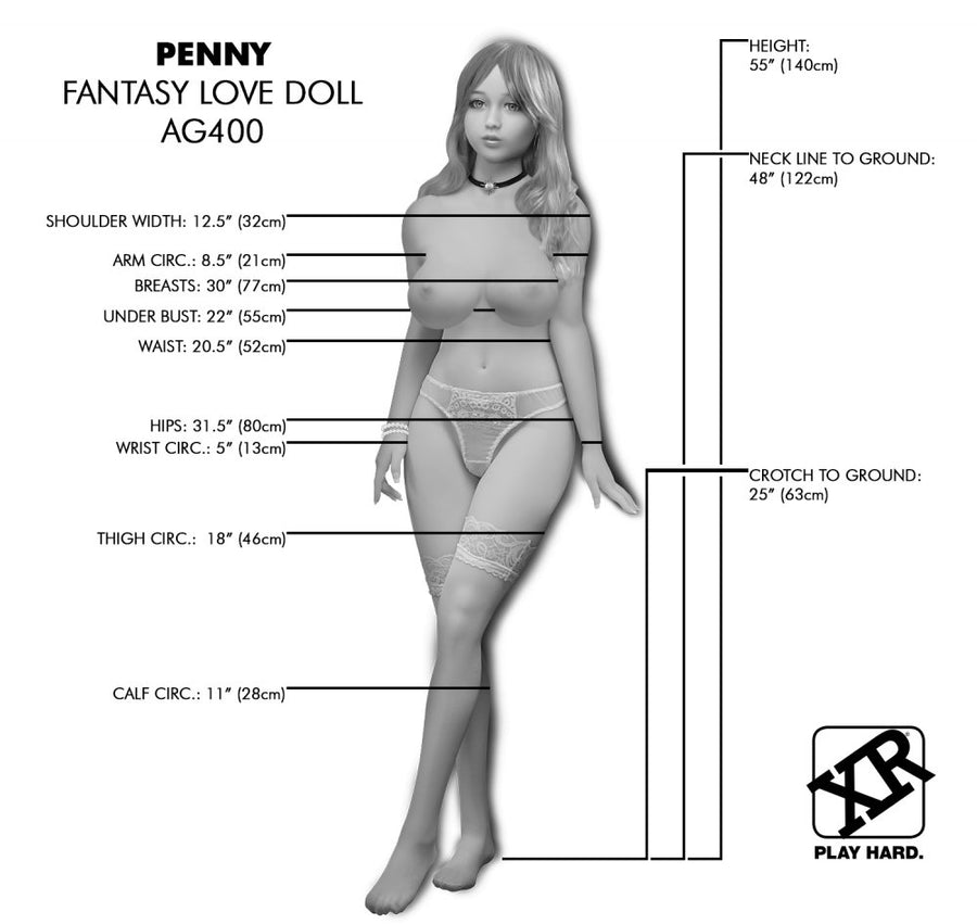 NextGen<br>Pornstar Penny<br> Fantasy Love Doll<br> Ultra Premium<br> Full-Size<br> Female Companion