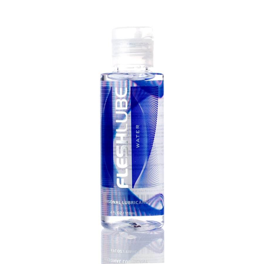 Fleshlight Fleshlube Water Premium Water-Based Lubricant 4 oz aw-sex-products.