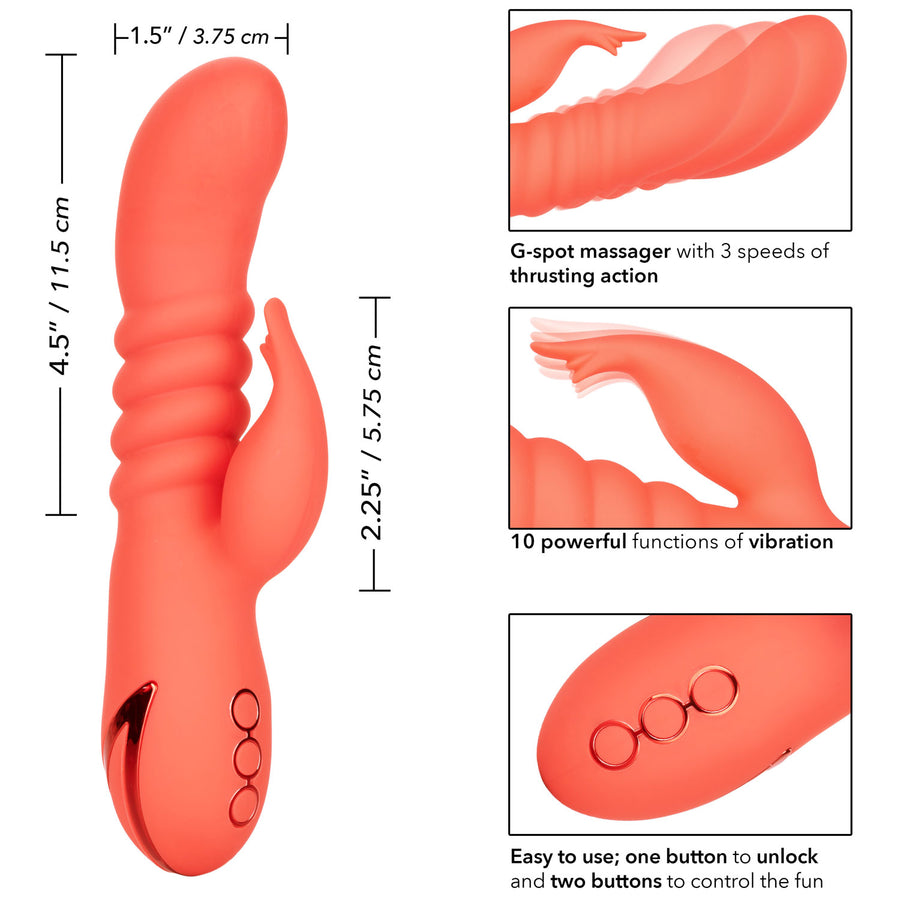California Dreaming <br>Orange County<br> Cutie <br>Silicone Vibrator aw-sex-products.
