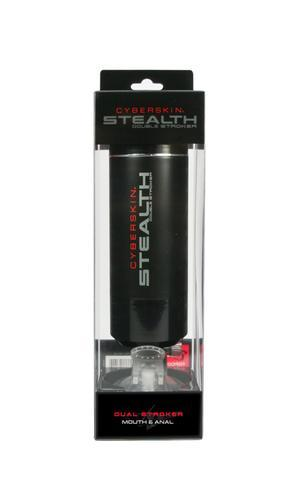 Cyberskin<br>Stealth<br>Dual Stroke<br>Mouth & Ass <br>Black