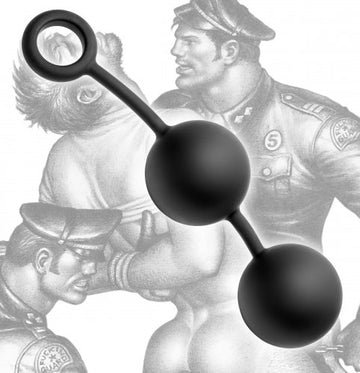 Tom of Finland <br>Weighted<br>Anal Balls