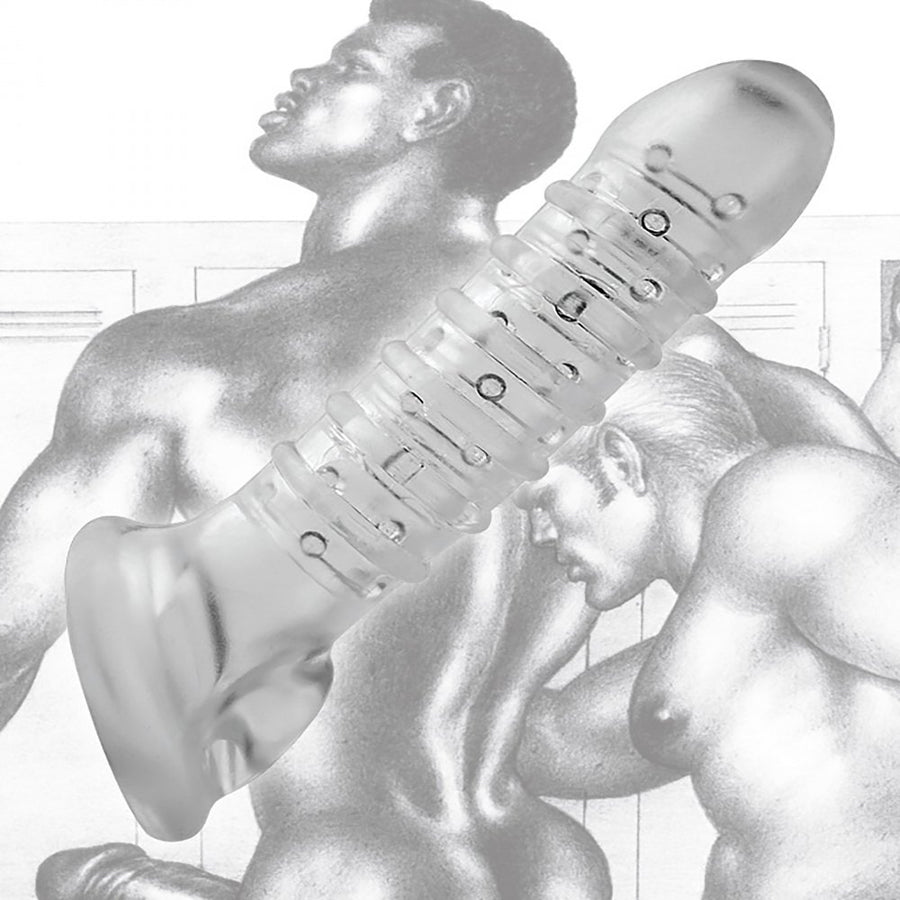 Tom of Finland Textured Girth Enhancer Penis Extender aw-sex-products.