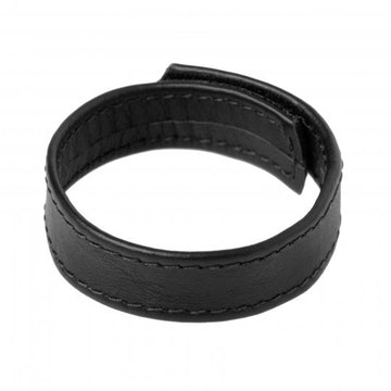 Strict Leather Velcro Cock Ring aw-sex-products.