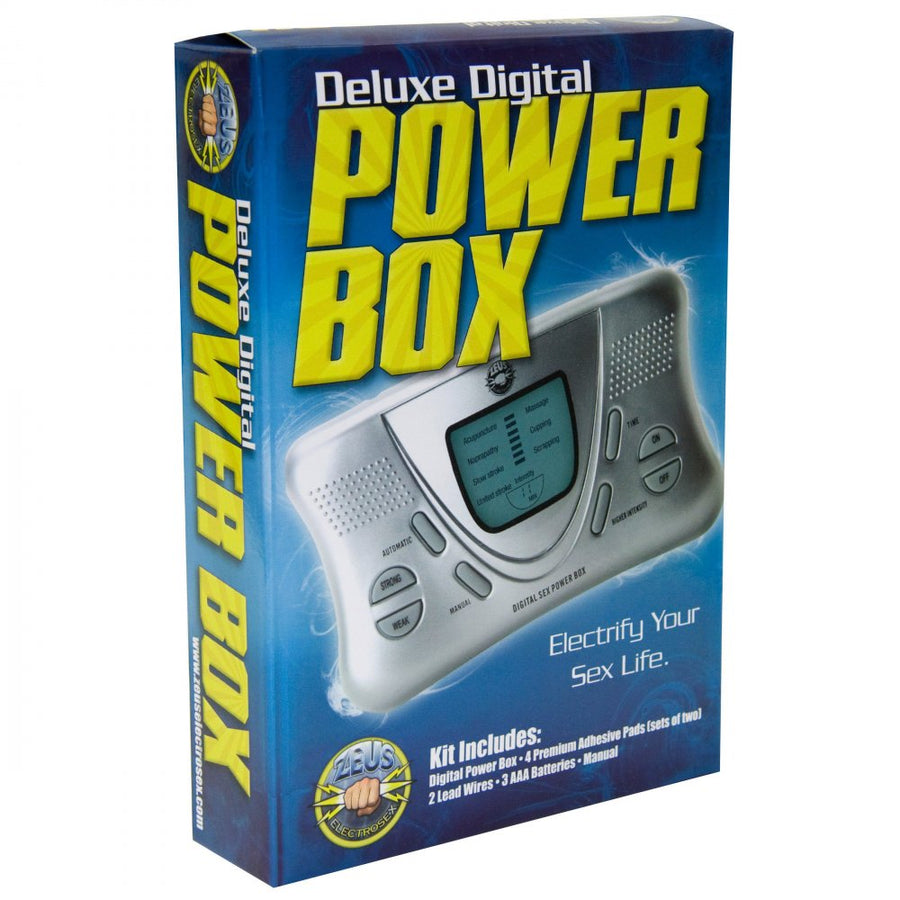 Zeus Electrosex Deluxe Digital Power Box aw-sex-products.
