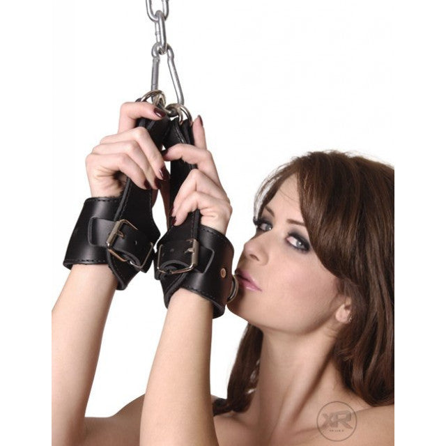 Leather Suspension Cuffs aw-sex-products.