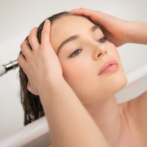 Keep your scalp healthy with a regime of MONPURE's scalp serum, scalp mask and scalp mask