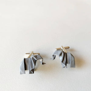 Papiro Gems origami cufflinks for men