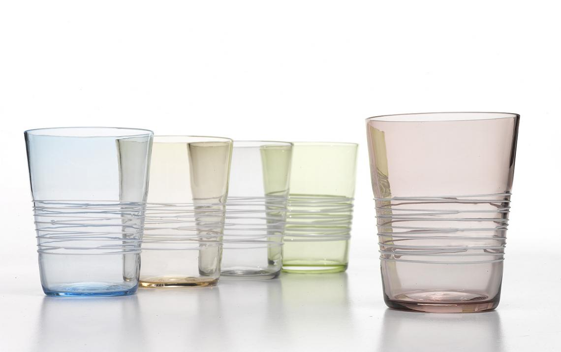 FILANTE TUMBLER - SET OF SIX MIXED COLORS