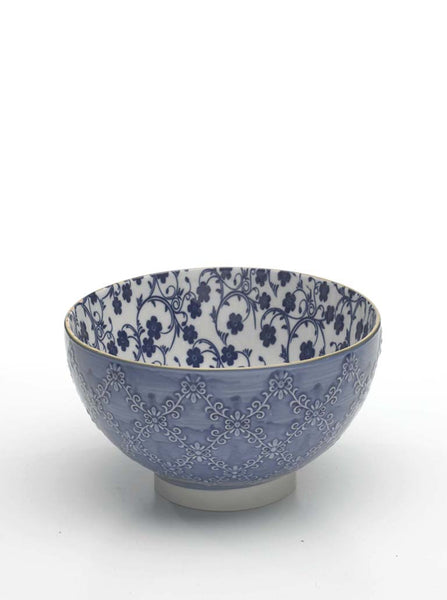 TUE TEX MEDIUM BOWL - SET OF SIX