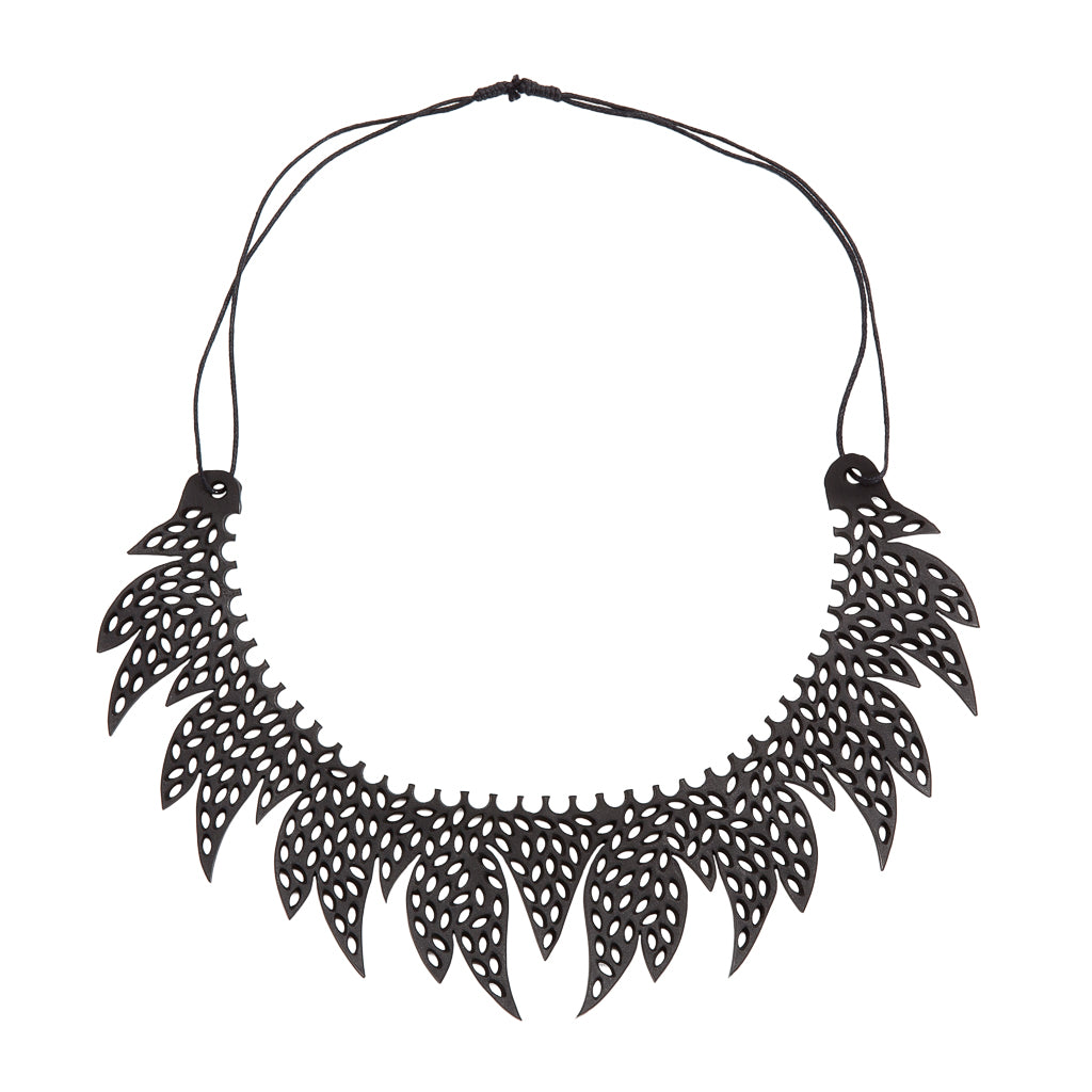 Sunburst Inner Tube Necklace