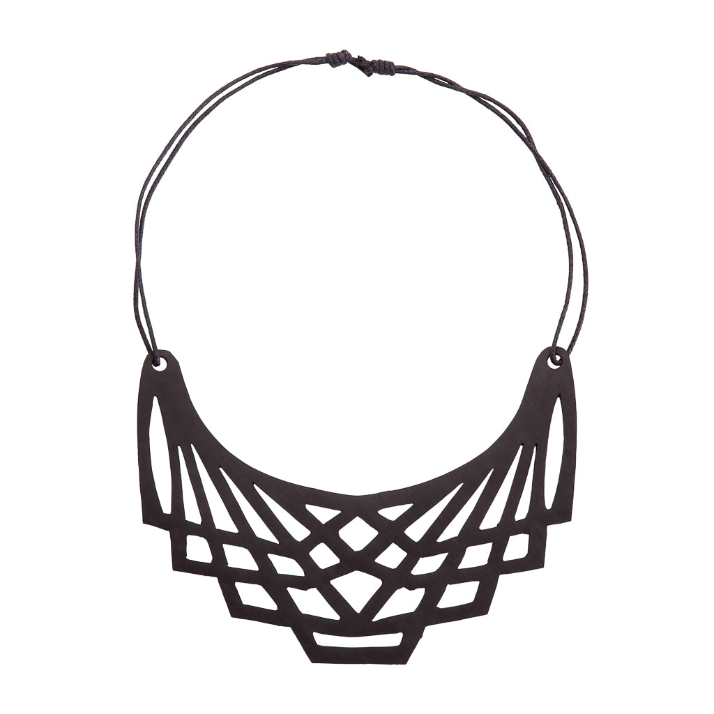 Origami Inner Tube Necklace
