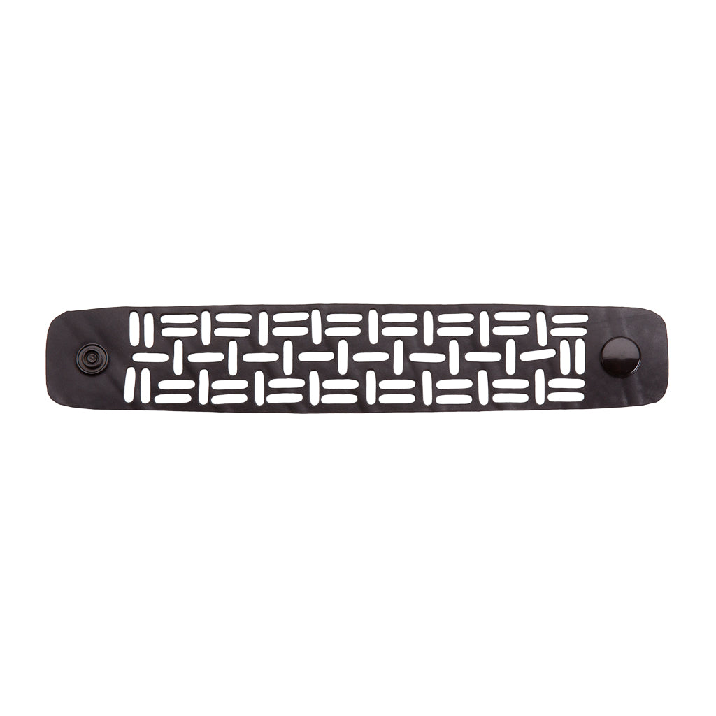 Sequence Recycled Rubber Geometric Bracelet