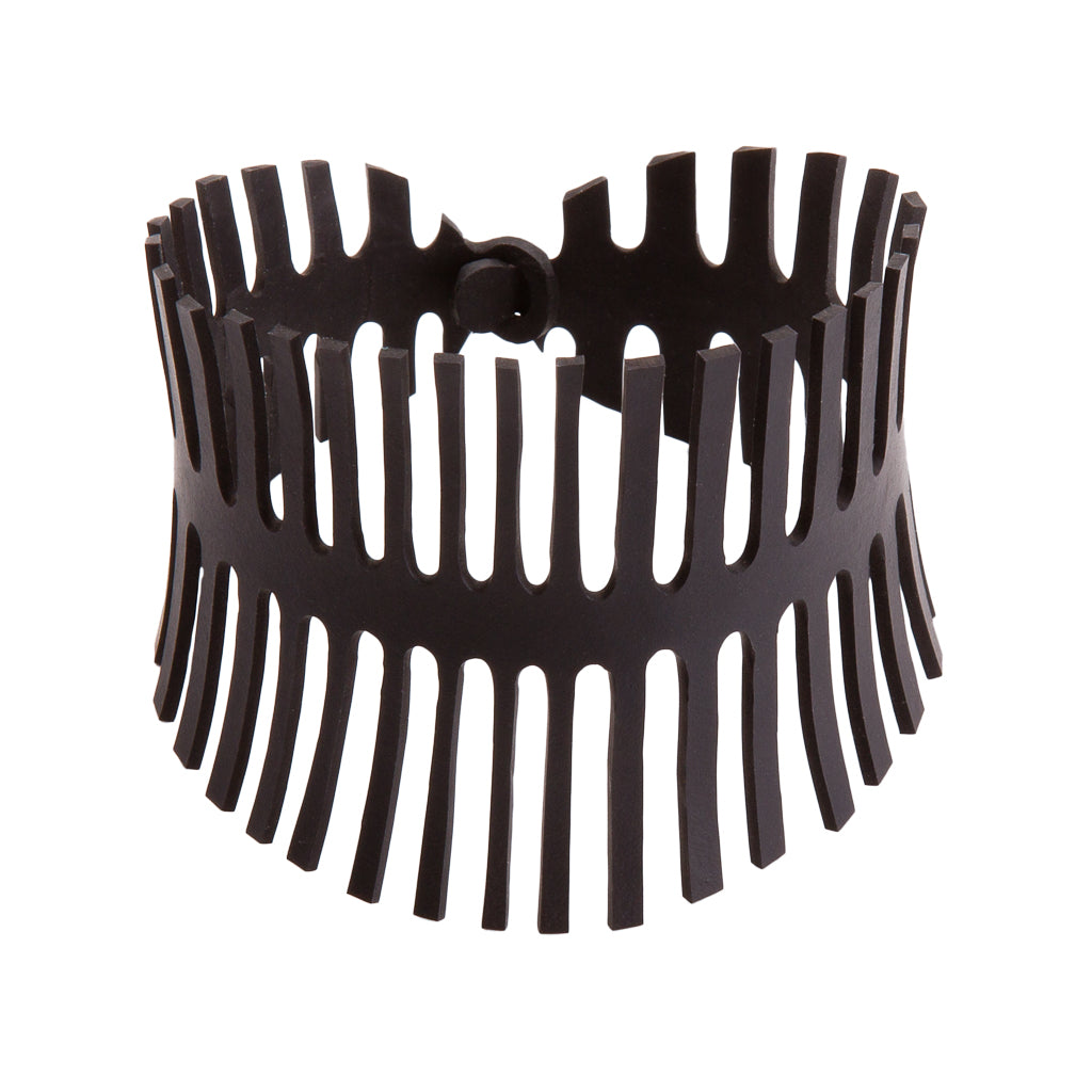 Fishbone Recycled Rubber Bracelet by Paguro Upcycle