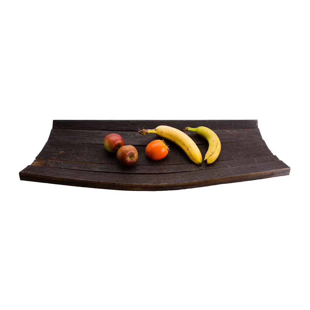 Upcycled Vegan Fruit Bowl Made from Whisky Barrel