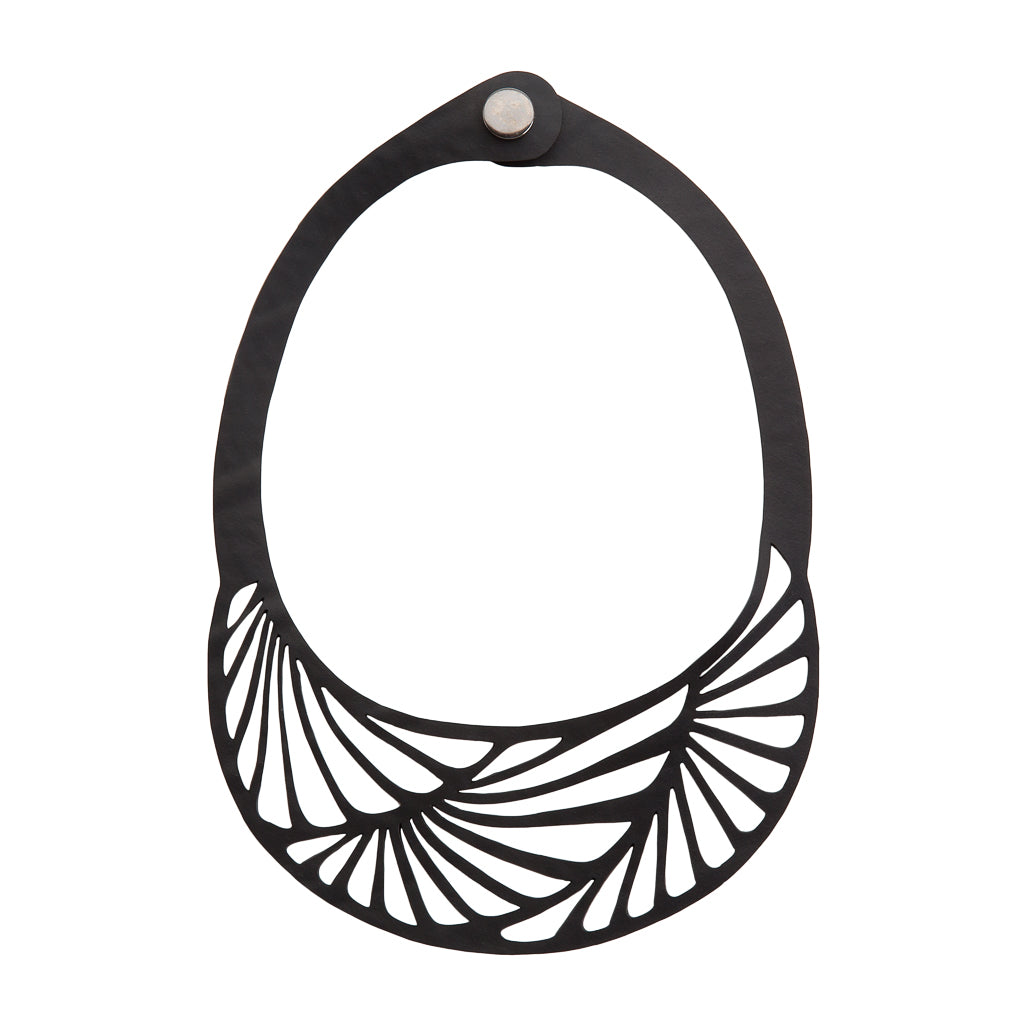 Seraphine (III) Inner Tube Necklace by Paguro Upcycle
