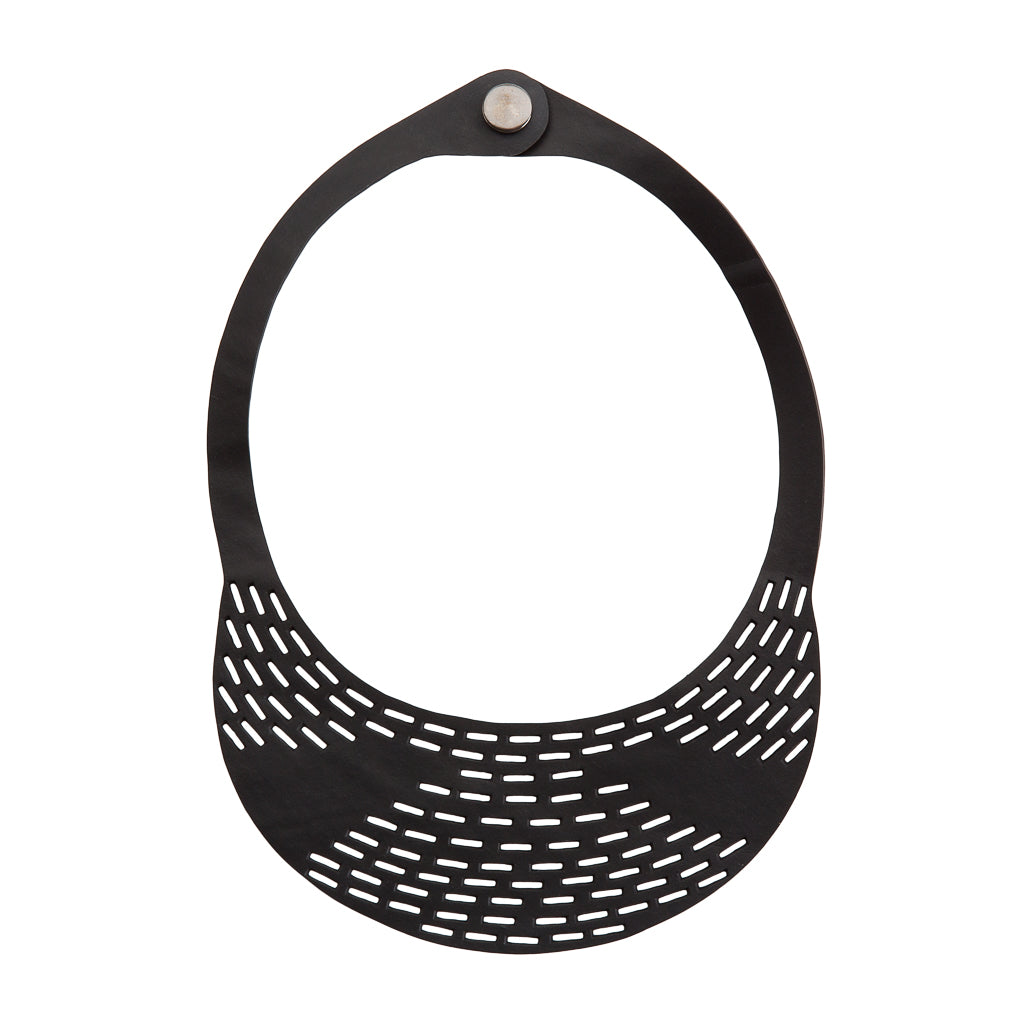 Coding Inner Tube Necklace by Paguro Upcycle