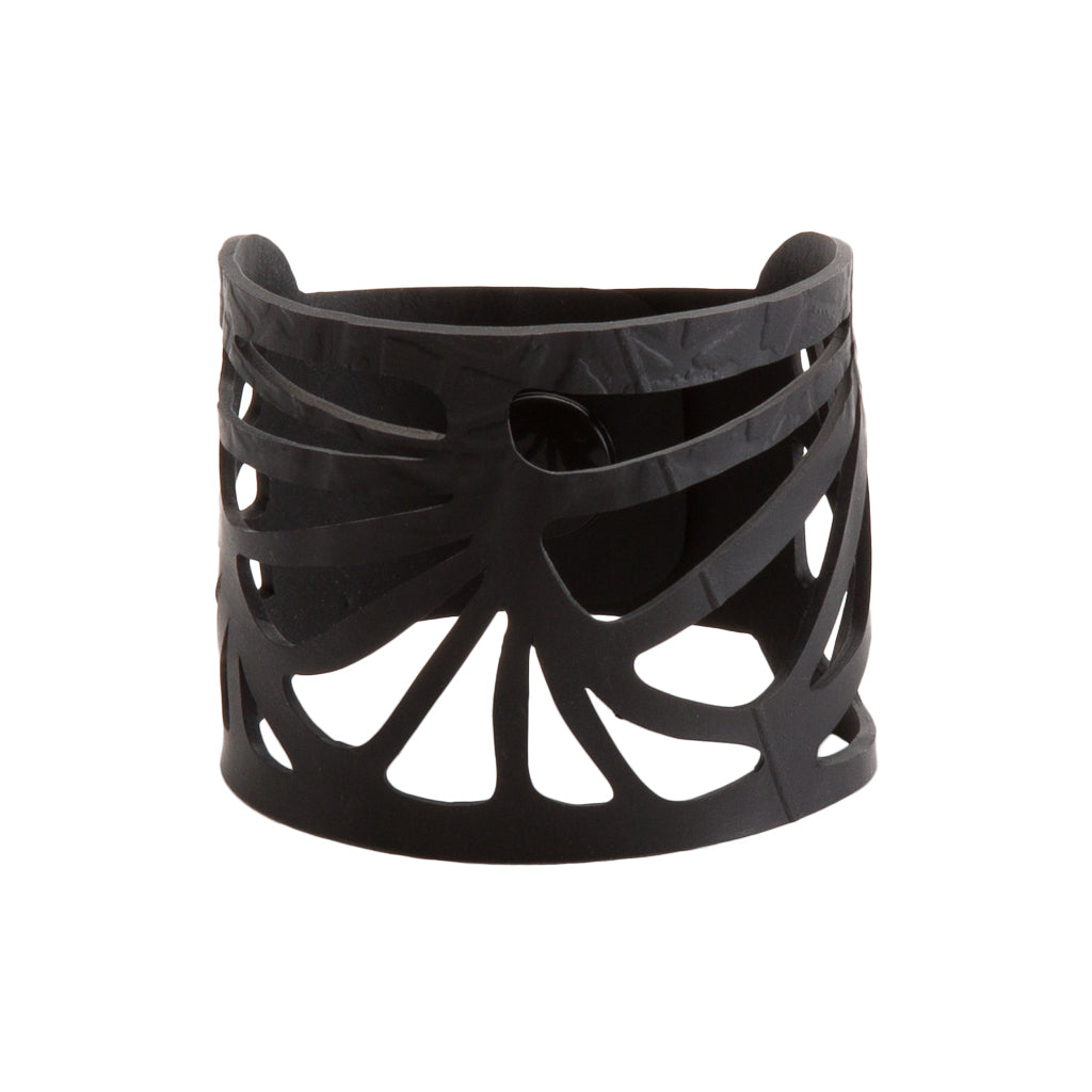 Seraphine (III) Recycled Rubber Bracelet by Paguro Upcycle