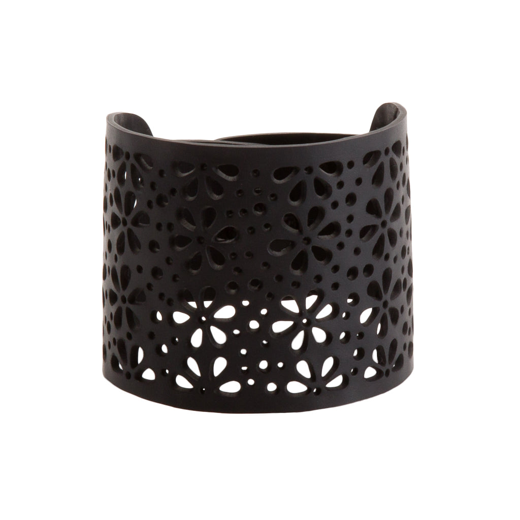 Seraphine (II) Recycled Rubber Bracelet by Paguro Upcycle