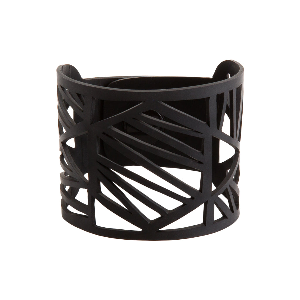 Honeycomb Recycled Rubber Bracelet