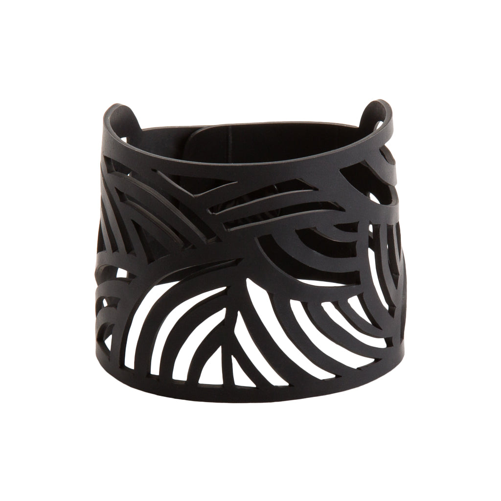 Seraphine (I) Recycled Rubber Bracelet by Paguro Upcycle