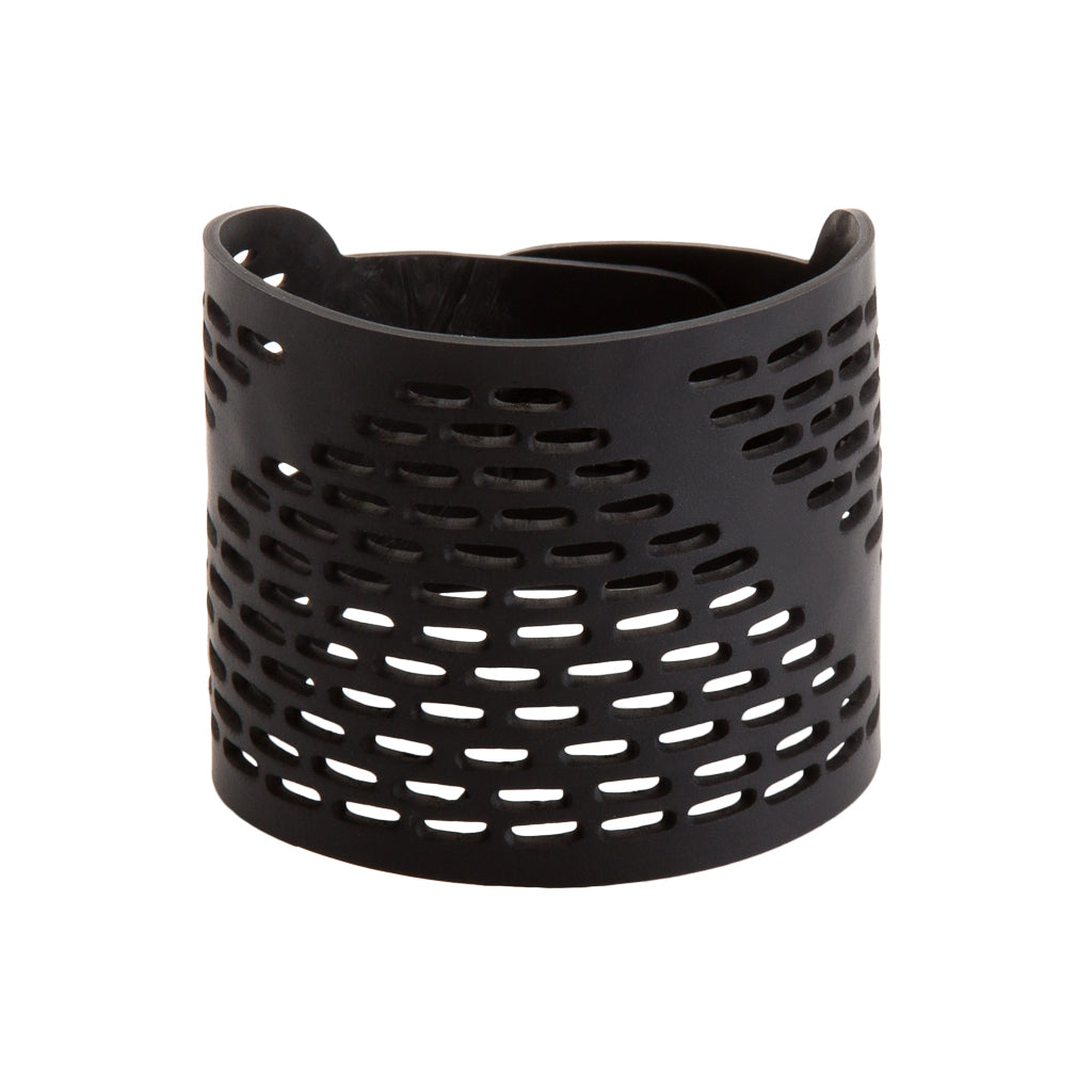 Coding Recycled Rubber Bracelet by Paguro Upcycle