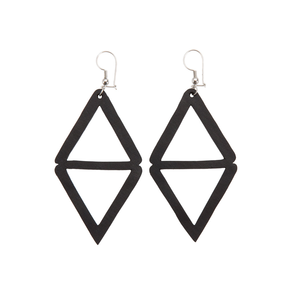 Copenhagen Recycled Rubber Earrings