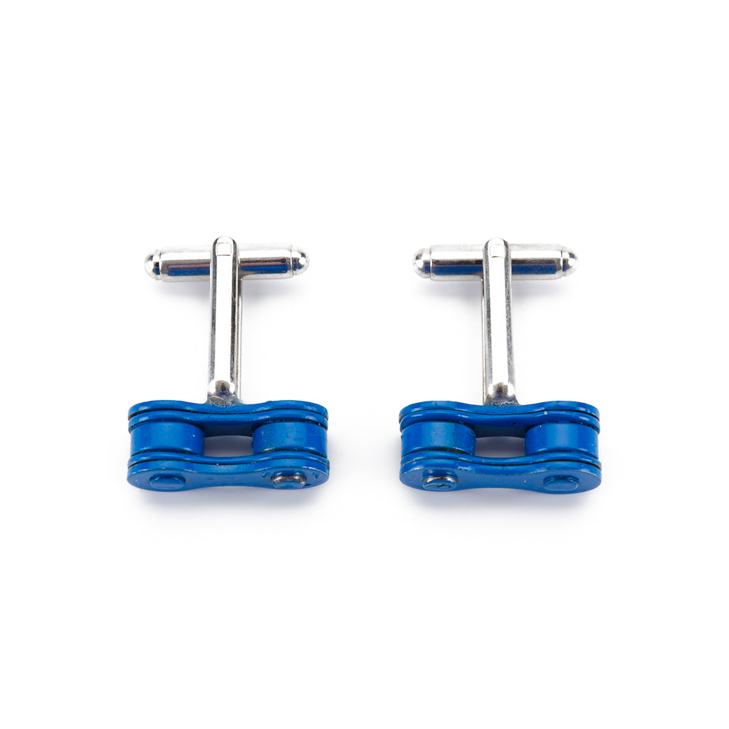 Recycled Bicycle Chain Cufflinks (3 Colours Available)