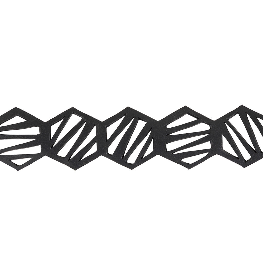 Honeycomb Inner Tube Geometric Choker by Paguro Upcycle