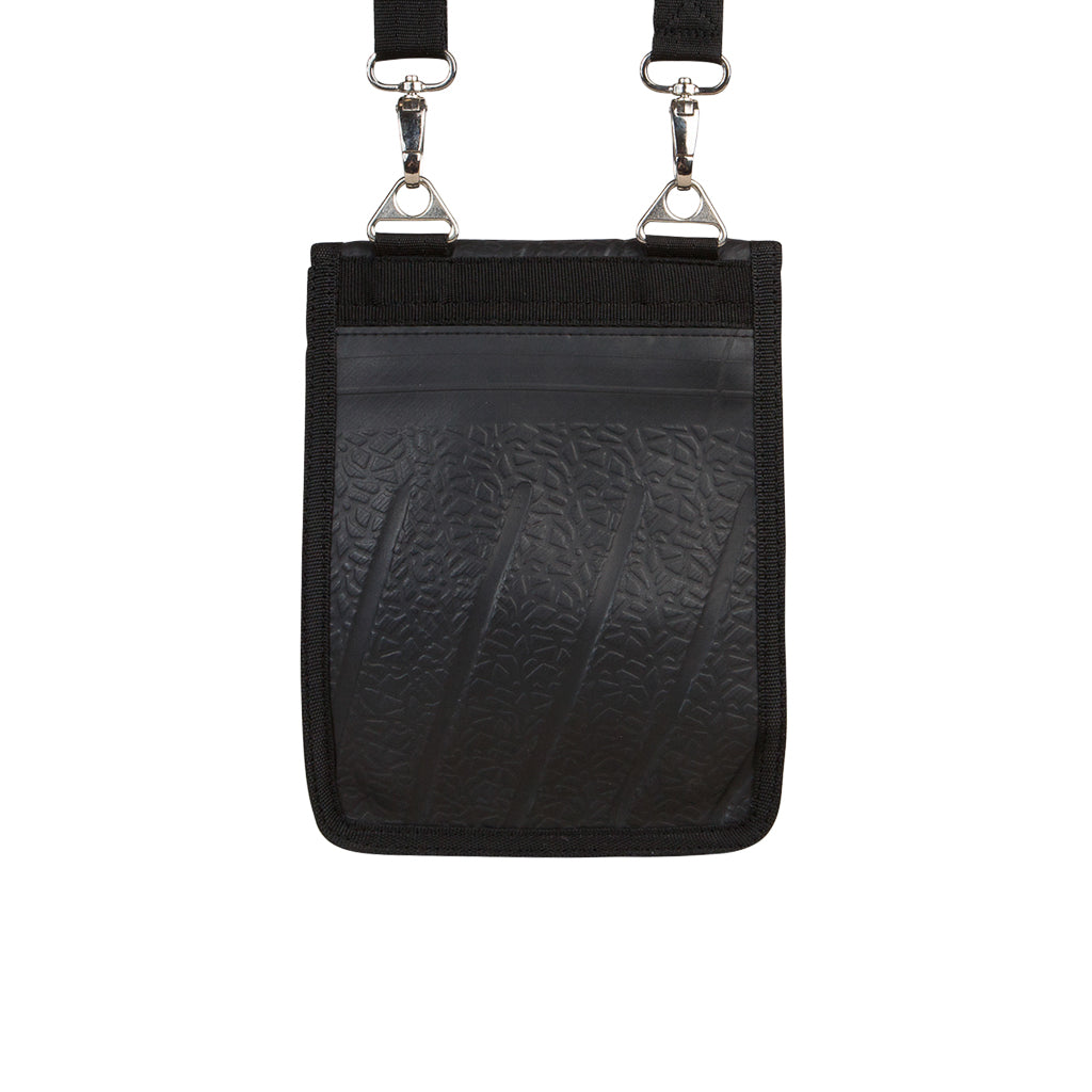 Eddie Recycled Rubber Outdoor Vegan Handbag