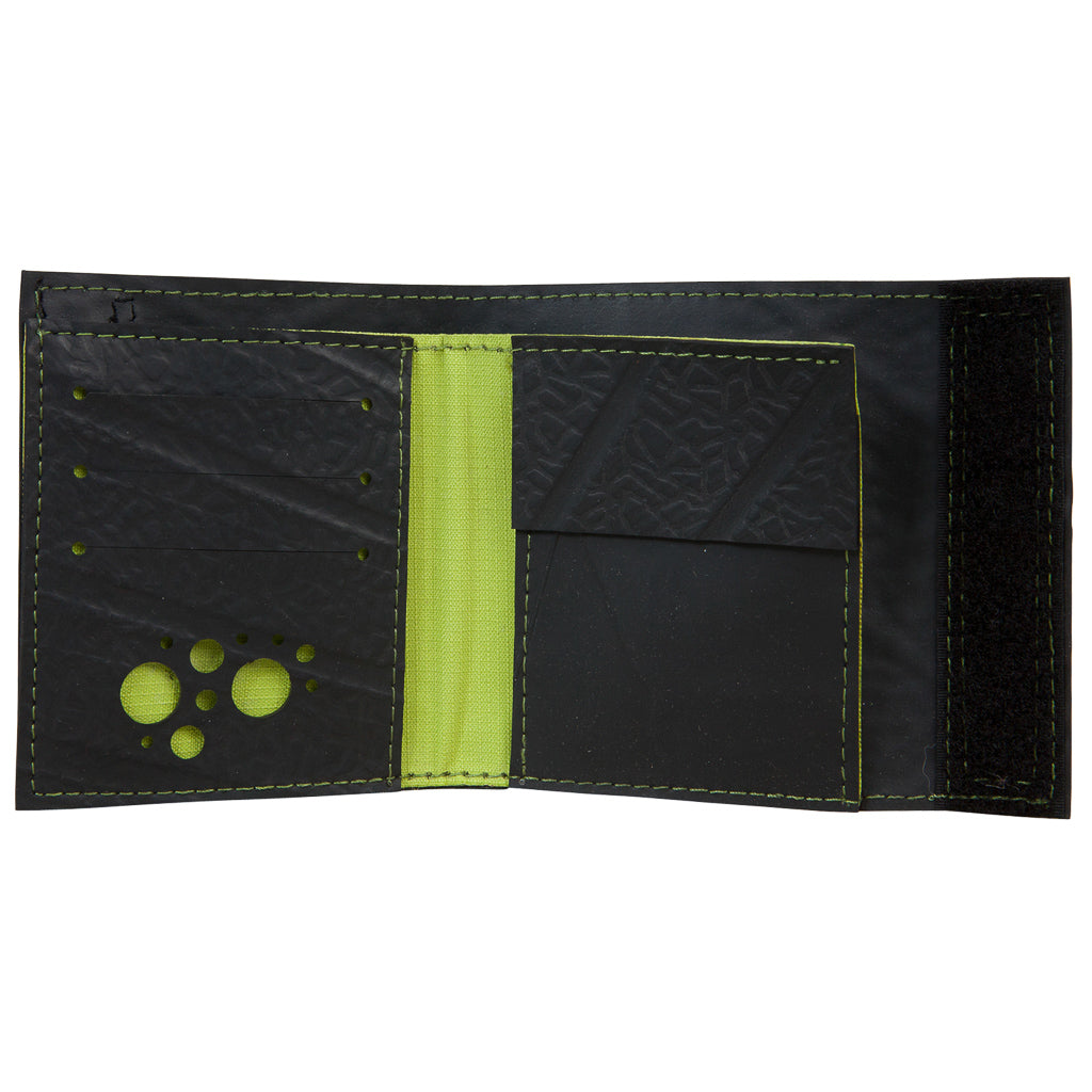 Reiga Velcro Recycled Rubber Vegan Wallet
