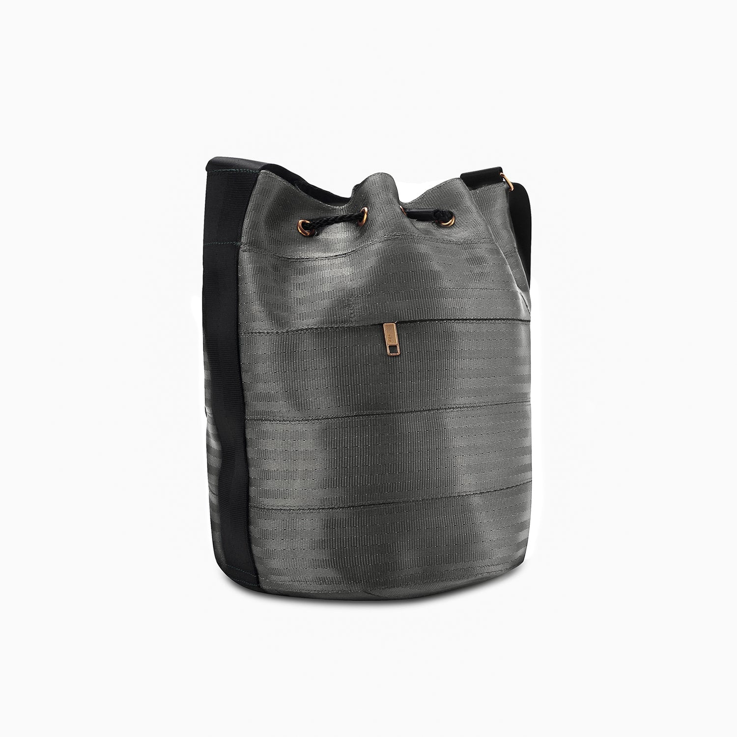 Balsam Upcycled Vegan Seatbelt Bucket Bag (3 Colours Available) by Paguro Upcycle
