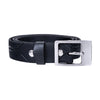 Slim Recycled Tyre Vegan Biker Belt