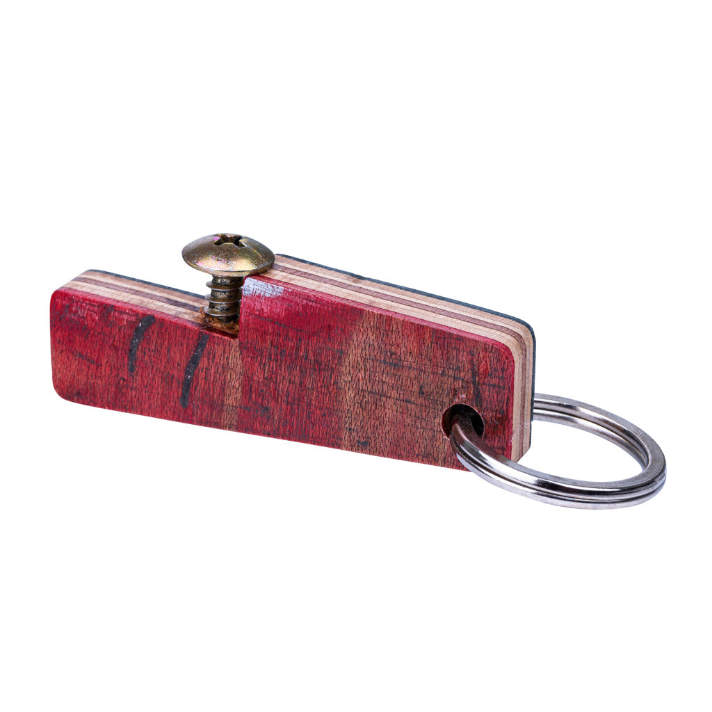 Zig Recycled Skateboard Bottle Opener Keyring by Paguro Upcycle