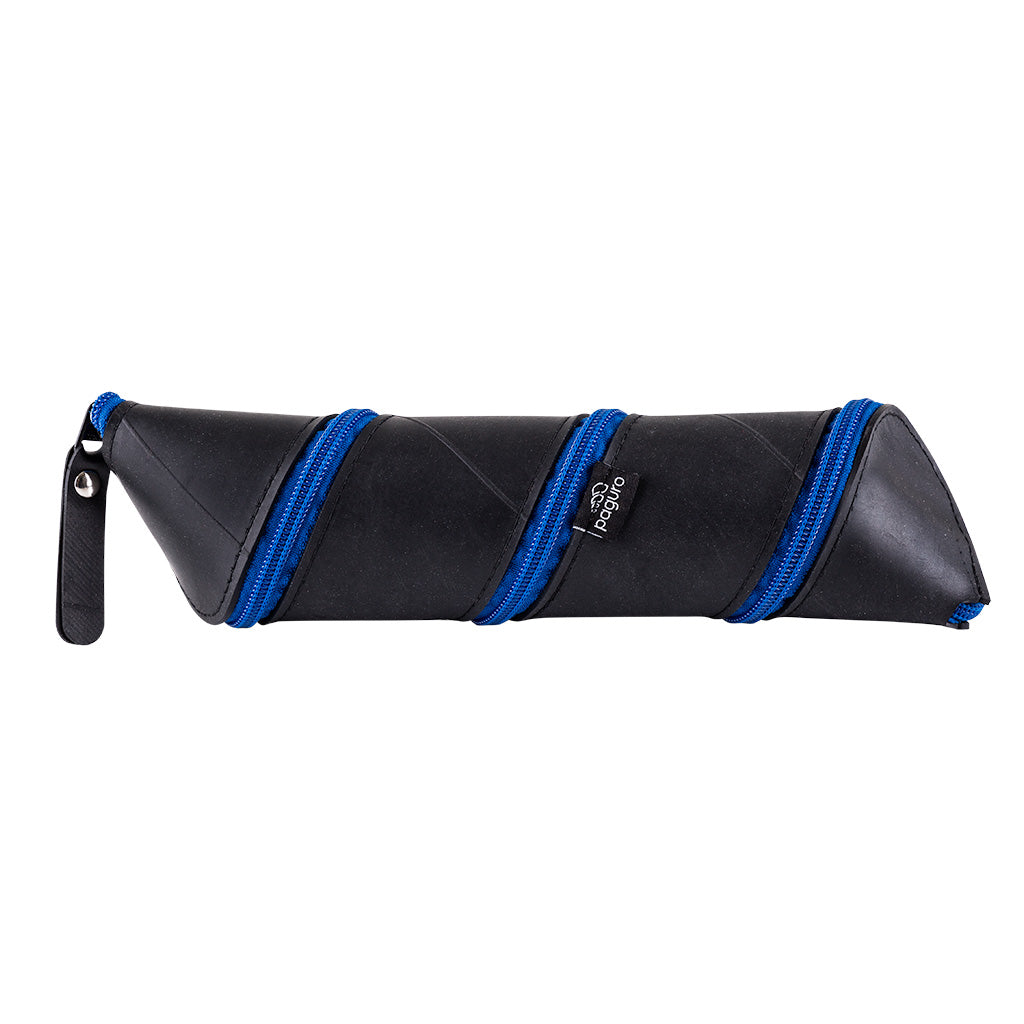 Nanis Funky Zip Rubber Vegan Pencil Case