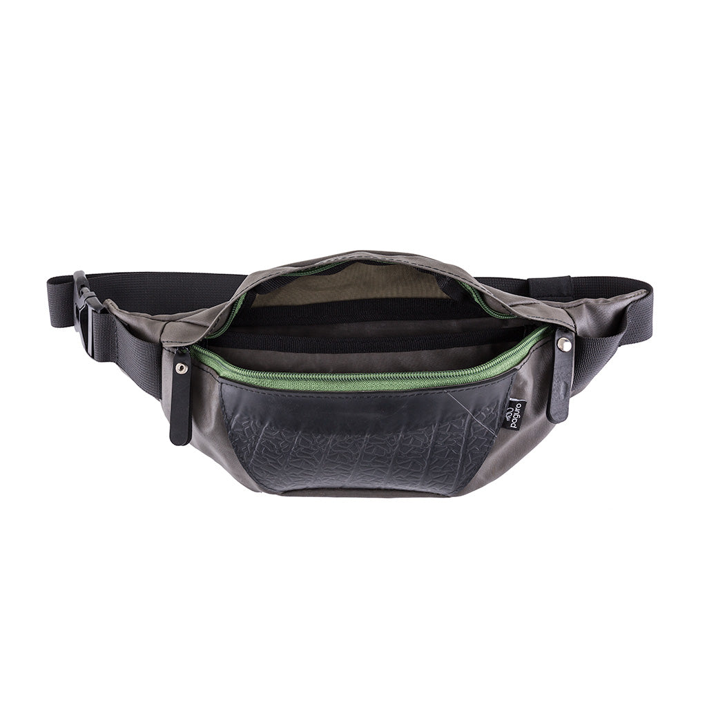 Platoon Recycled Canvas Vegan Fanny Pack by Paguro Upcycle