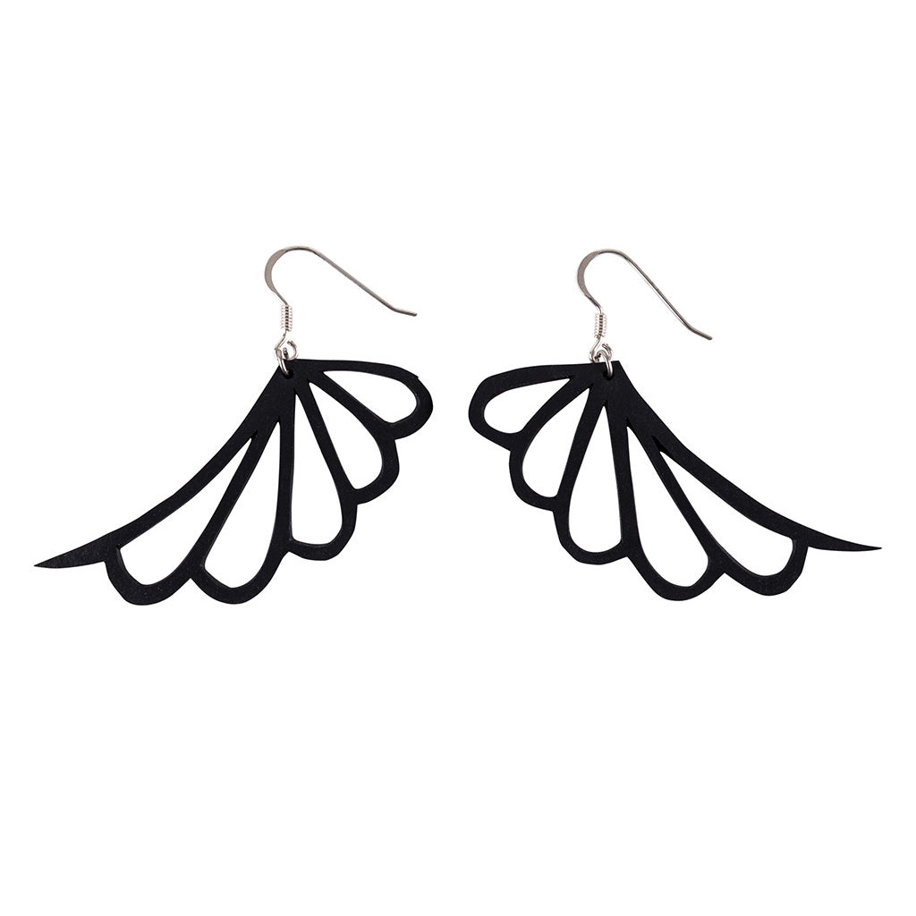 Wing Upcycled Butterfly Earrings by Paguro Upcycle