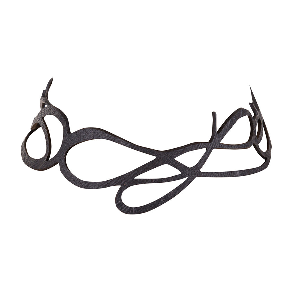 Wave Elegant Inner Tube Choker by Paguro Upcycle