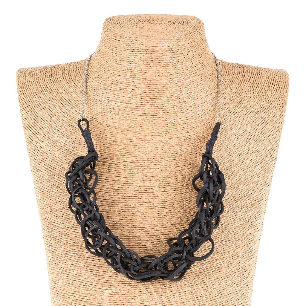 Bundle Recycled Rubber Necklace by Paguro Upcycle