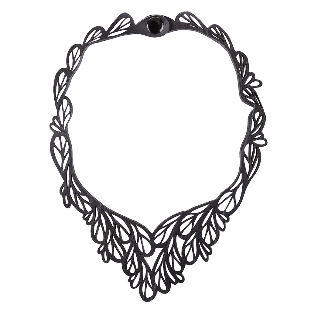 Fountain Rubber Necklace by Paguro Upcycle