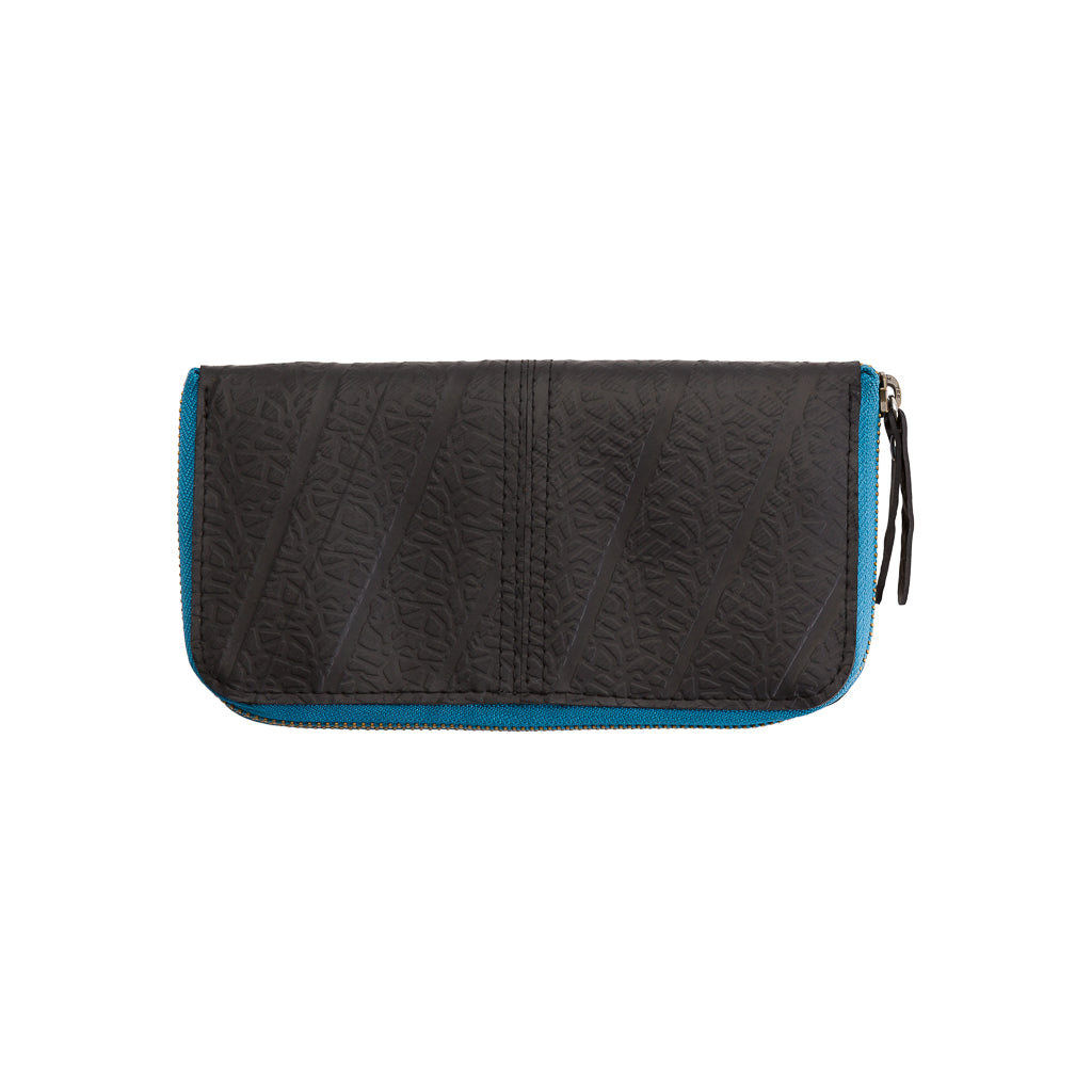 Caroline Long Zip Vegan Purse (6 Colours Available) by Paguro Upcycle