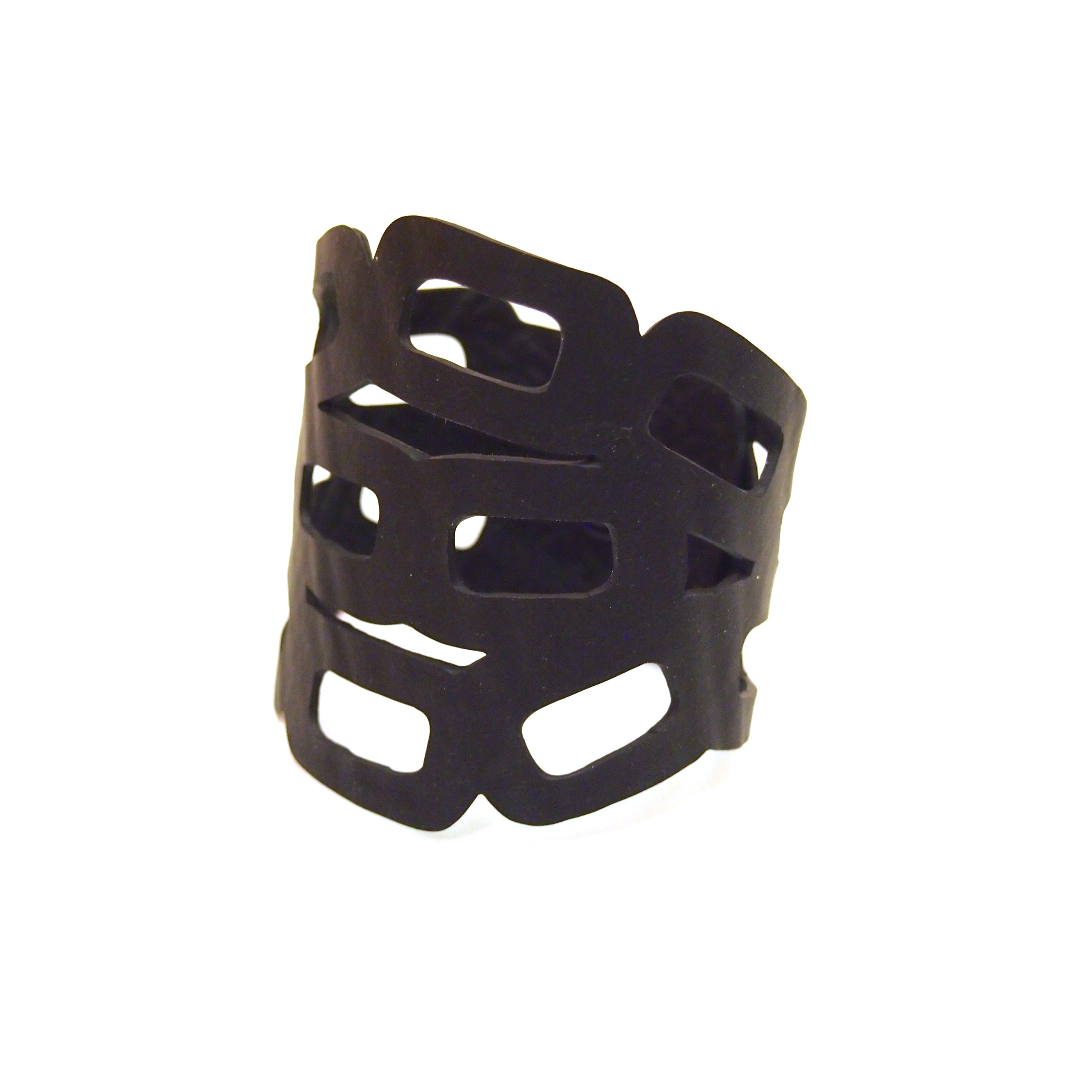 Chain Recycled Rubber Bracelet