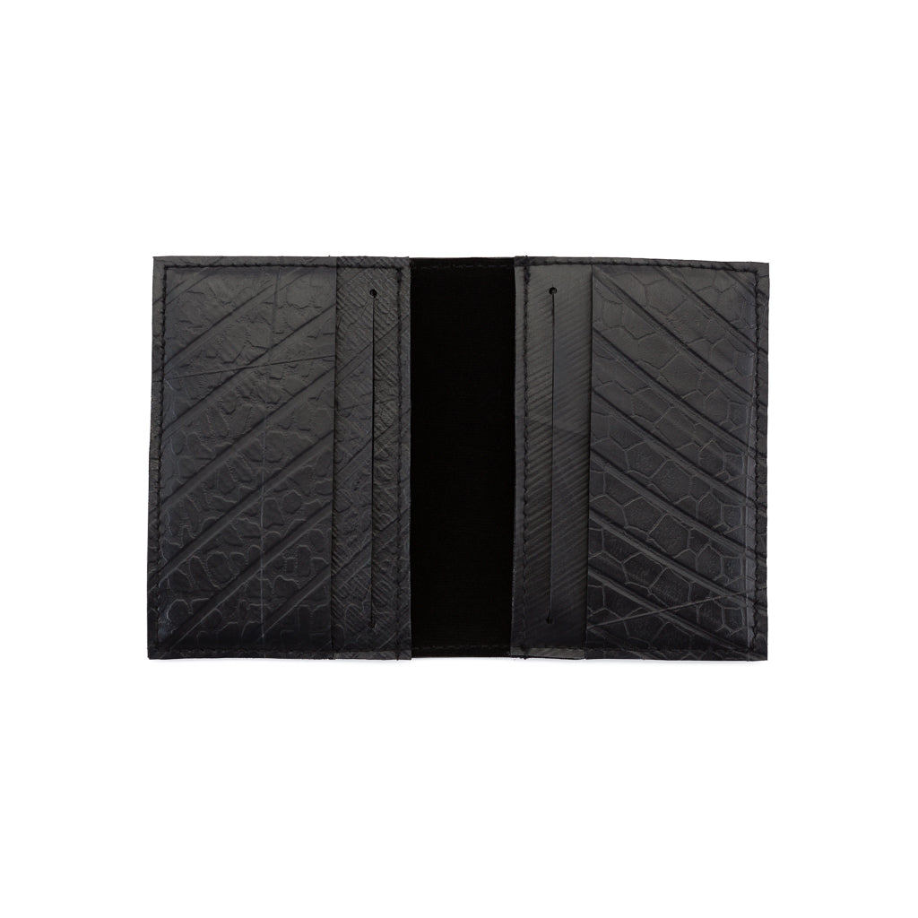 Conrad Recycled Rubber Vegan Card Wallet